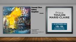 EXPO CONCEPT STORE PARIS 1 AU 20 SEPTEMB