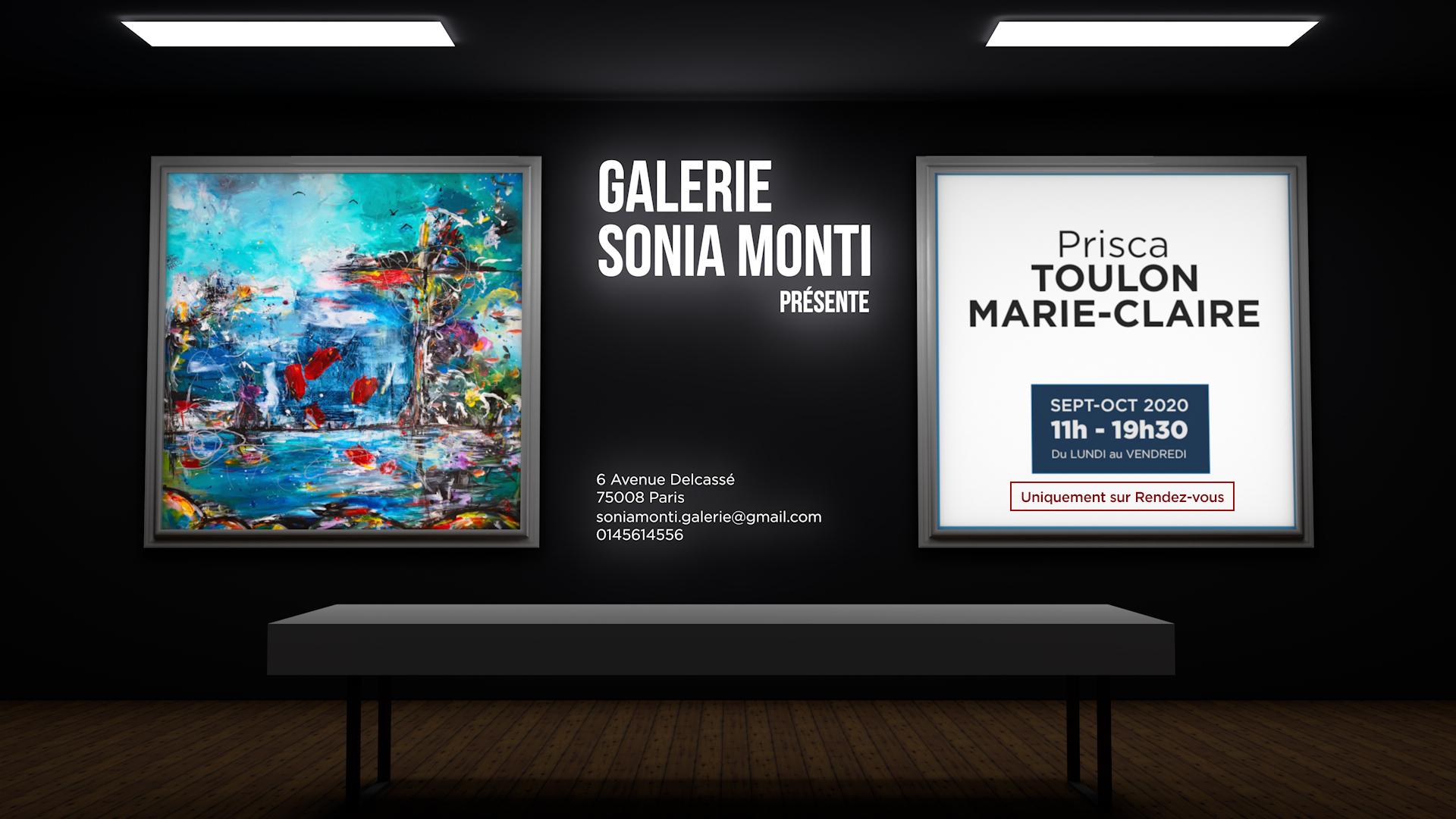 Exposition Galerie Sonia Monti sept-oct