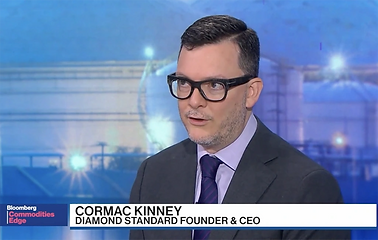 Diamond Standard Founder Cormac Kinney.w
