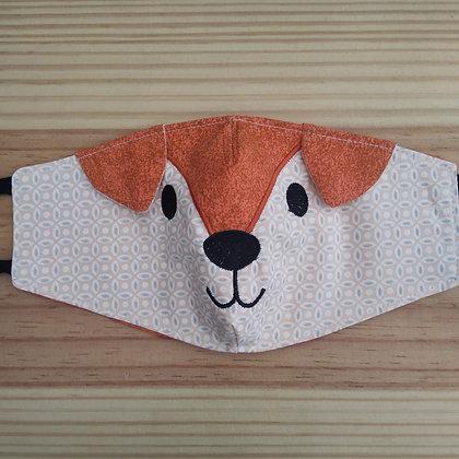 Máscara de bichinho raposa