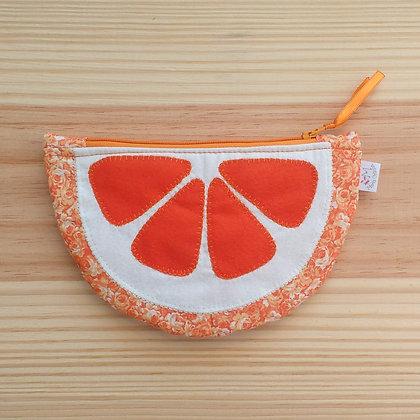 Estojo necessaire laranja