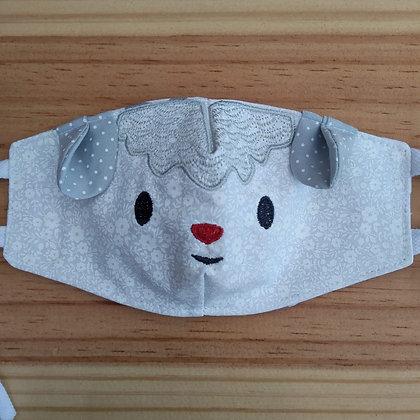 Máscara de bichinhos ovelha