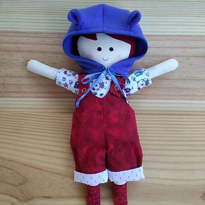 Boneca boneco de pano Ananda
