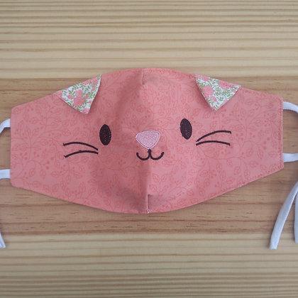 Máscara de tecido gatos