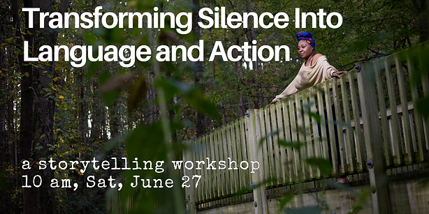 Transforming Silence Into Language and A