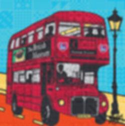 Rose Hill Designs collaborations British Museum Routemaster Bus