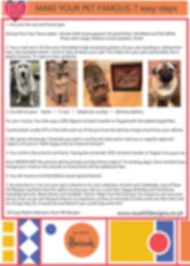 Rose Hill Designs Make your pet famous A