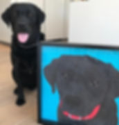 Rose Hill Designs pets with artwork MONT