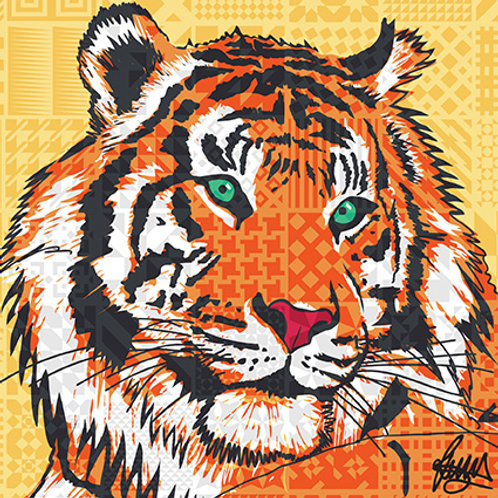 Tiger in collaboration with ZSL London and ZSL Whipsnade Zoos