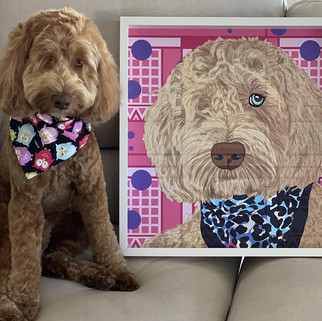 9 Rose Hill Designs pets with artwork WI