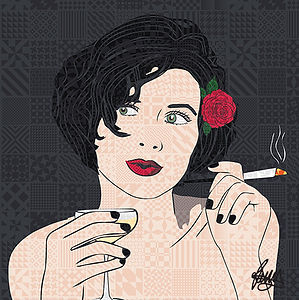 Rose Hill Designs Portraits Sadie Frost
