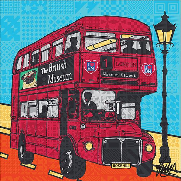 9 Rose Hill Designs British Museum Card.