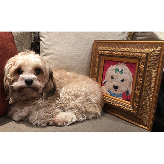 7 Rose Hill Designs pets with artwork AM
