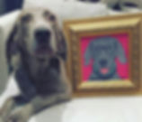 Rose Hill Designs pets with artwork LEO