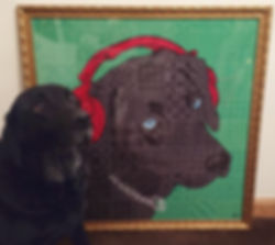 Make Your Pet Famous Artworks Black Labrador
