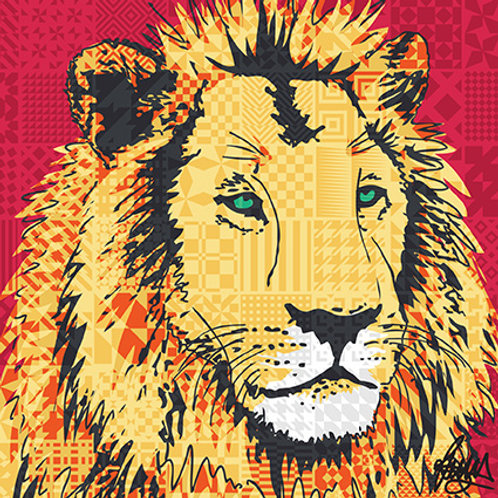 Lion in collaboration with ZSL London and ZSL Whipsnade Zoos