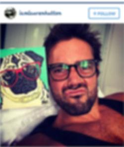 Matthew Spencer Made in Chelsea instagram Pug Card