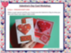 Valentine's Day card Schedule at the Min