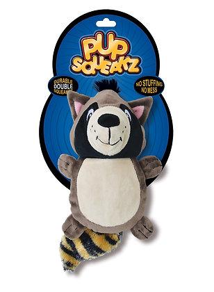 Pup Squeakz Racoon