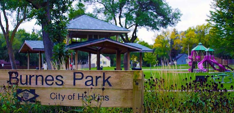 Burnes Park, City of Hopkins