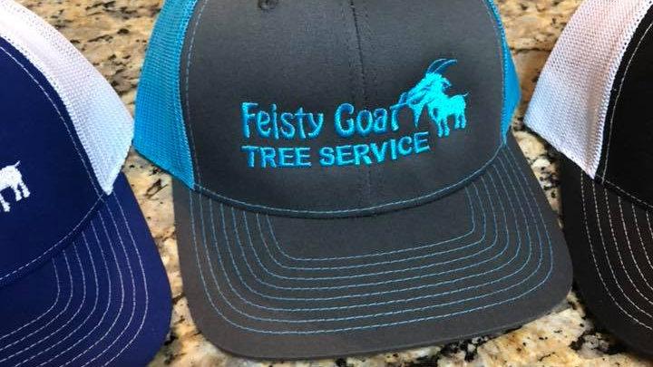 Feisty Hats - Light Blue / Grey