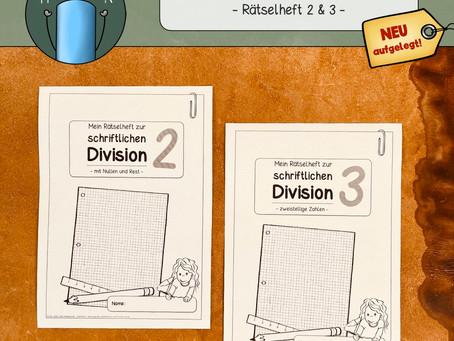 Rätselhefte zur schriftlichen Division (2)