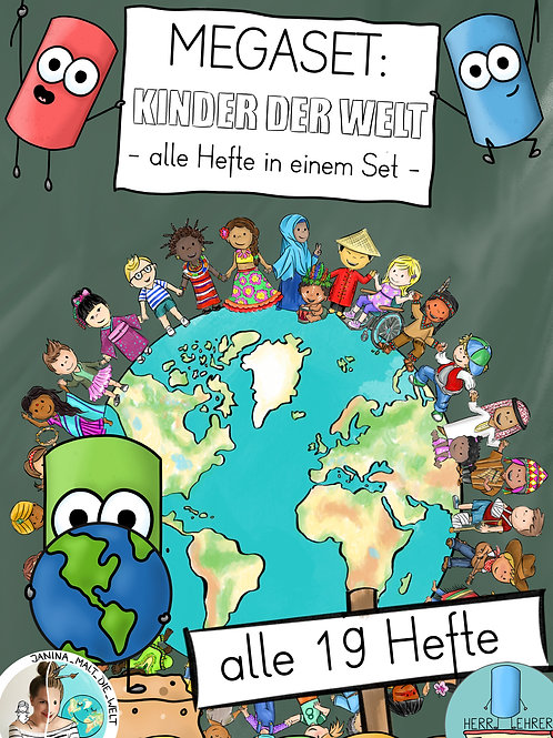 Entdeckerhefte: Kinder der Welt