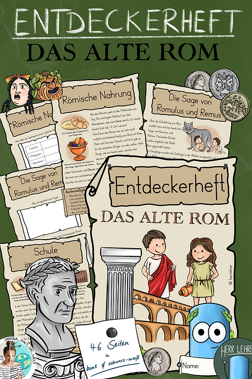 Entdeckerheft: Das alte Rom