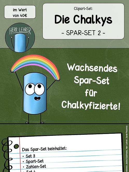 Spar-Set 2: Die Chalkys (wachsendes Paket)