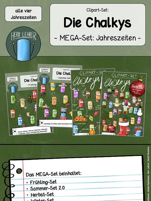 MEGA-Set: Die Chalkys (Jahreszeiten)