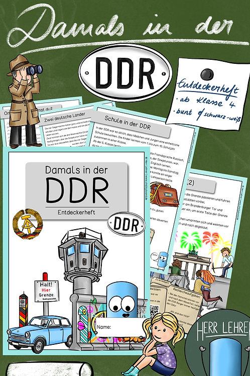 Entdeckerheft: Damals in der DDR