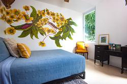The moth inspired room at Casa Alternavida