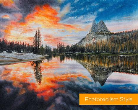 Yosemite National Park paintings