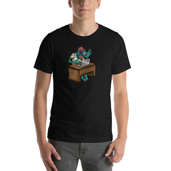 Deadly Desk Short-Sleeve Unisex T-Shirt
