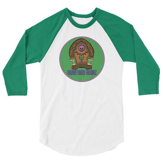 Goonz Radio 3/4 sleeve raglan shirt