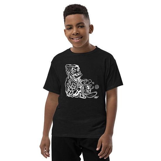 Tick Tock Clock Youth Short Sleeve T-Shirt
