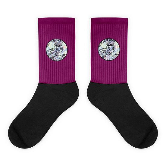 Space Grace Socks