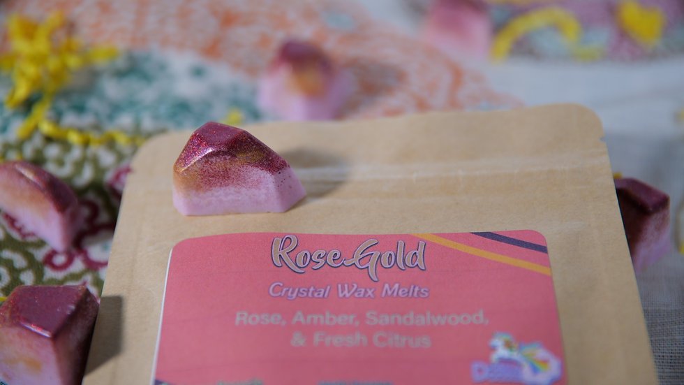 Rose Gold Crystal Wax Melts