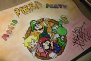 Mario Pizza Party