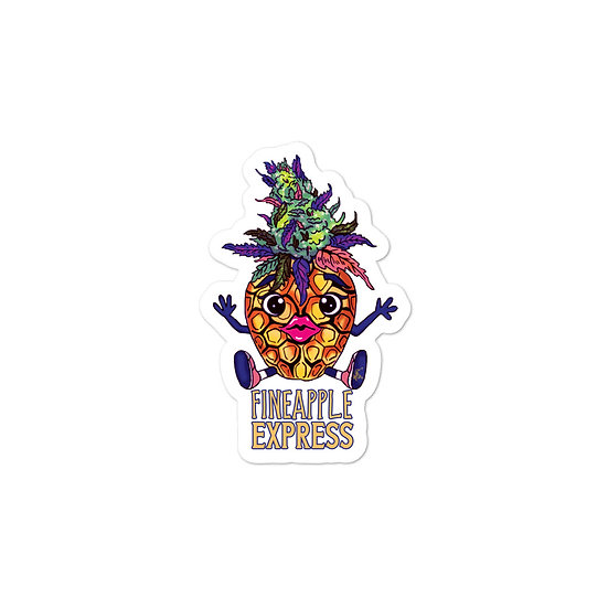 Fineapple Express Bubble-free stickers
