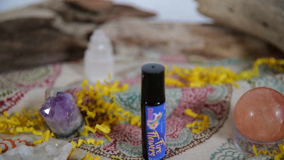 Fire Flowers Perfume Oil Roller