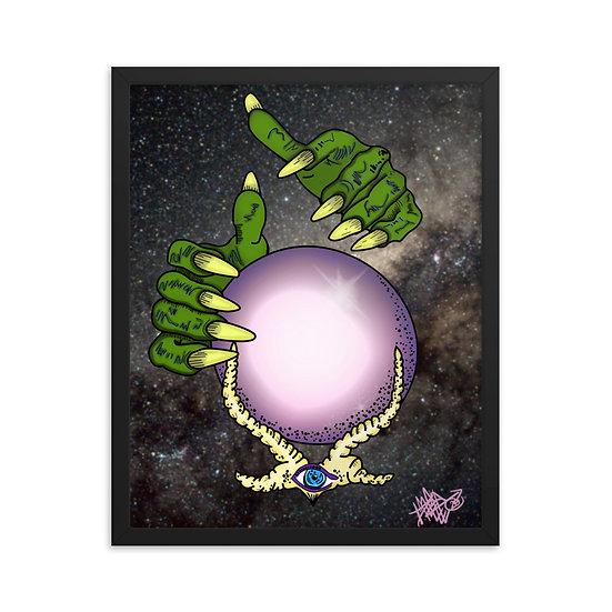 Crystal Ball Framed poster