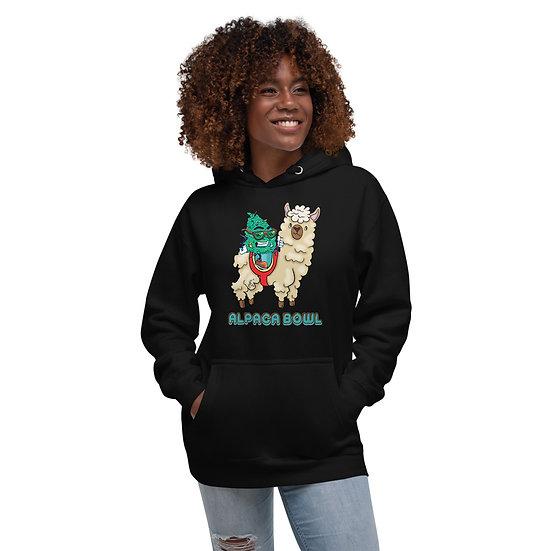 Alpaca Bowl Unisex Hoodie
