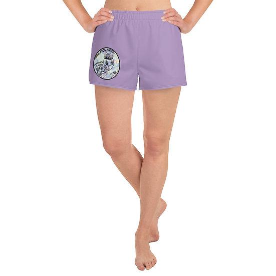 Space Grace Women's Athletic Short Shorts
