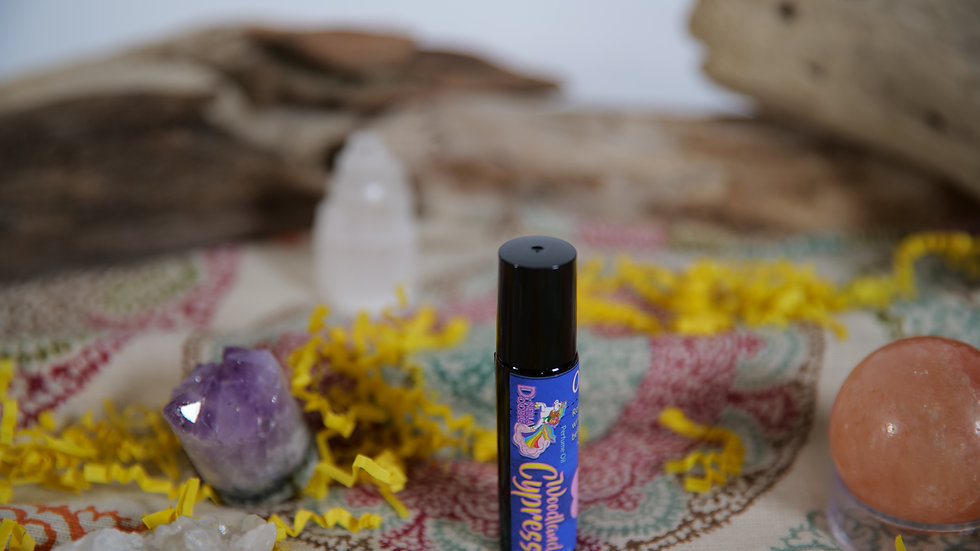 Woodland Cypress Perfume Oil Roller