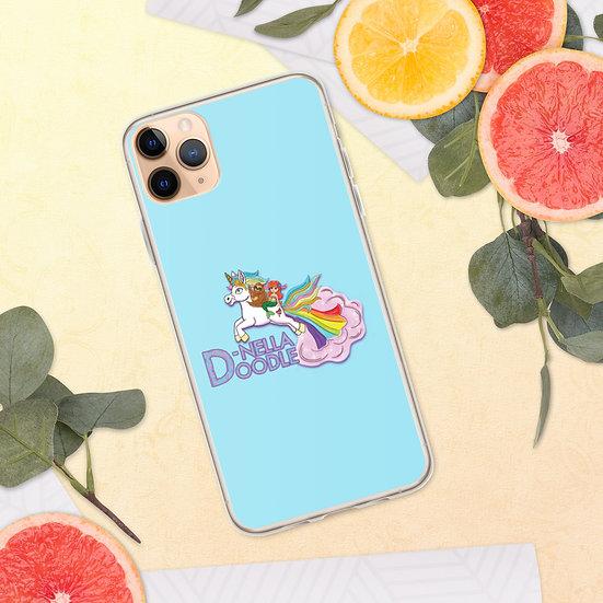 D-Nella Doodle iPhone Case