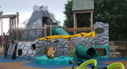 Mermaid Cave Mural