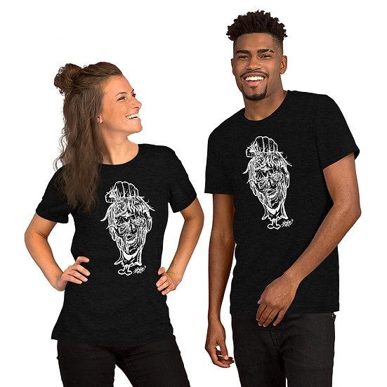Zombie Head Short-Sleeve Unisex T-Shirt