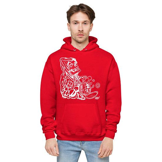 Tick Tock Clock Unisex fleece hoodie
