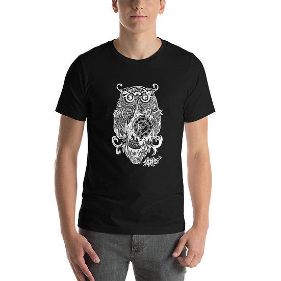 Owl Clock Short-Sleeve Unisex T-Shirt